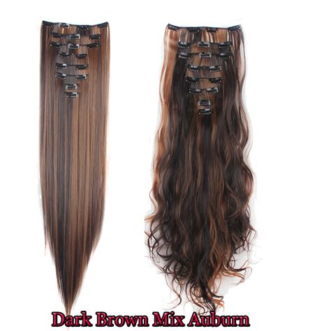best selling hair extensions uk top selling 8pc set clip in hair extension