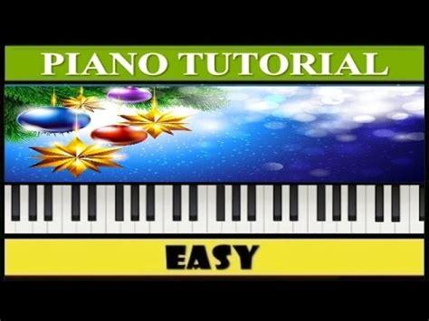 tutorial piano noche de paz noche de paz piano tutorial notas f 225 ciles synthesia