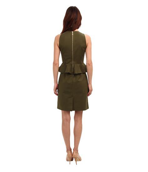 Kate Spade Alma 03956 Semiori kate spade new york peplum dress alma green 6pm