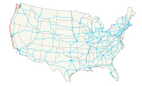 california map highway 101 u s route 101