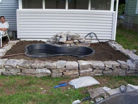 Diy Water Garden Ideas 54 Pond Garden Ideas And Design Diy Backyard Pond Ideas