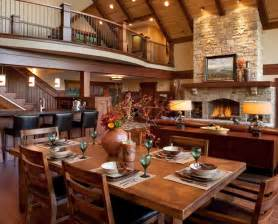 Cornerstone Homes Floor Plans beautiful log cabin dining rooms