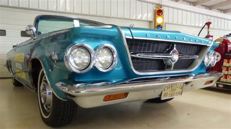 Teal Chrysler 300 1963 Chrysler 300 Pace Car 39227 Teal 2 Door