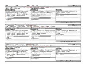 seizure chart template seizuretracker printable seizure logs and seizure
