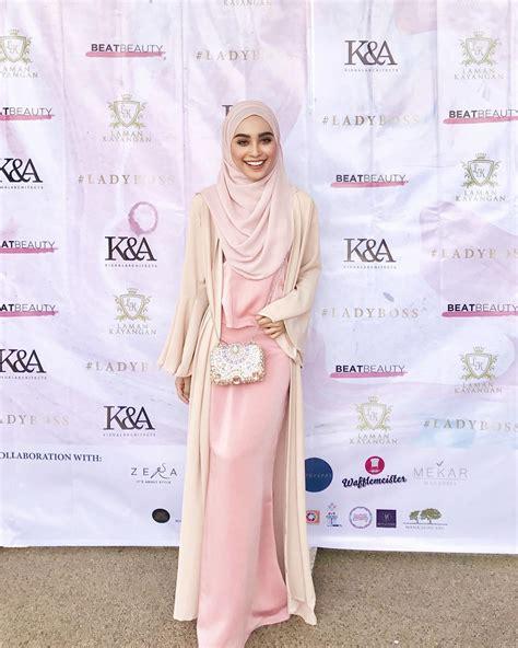desain dress untuk prom night 6 inspirasi fashion hijab yang simple dan cantik untuk