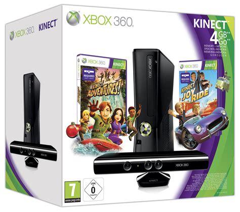 Kinect Xbox 360 Slim Refor microsoft xbox 360 slim 4gb kinect adventures kinect