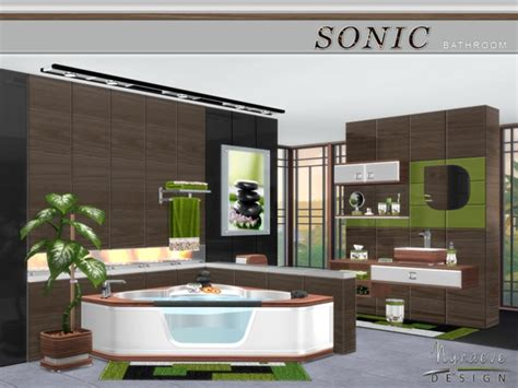 sonic bathroom sonic bathroom by nynaevedesign at tsr 187 sims 4 updates