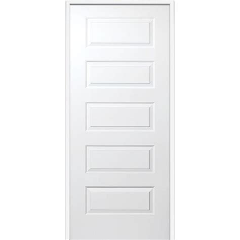 20 Interior Door Mmi Door 33 5 In X 81 75 In Primed Rockport Smooth Surface Solid 20 Min