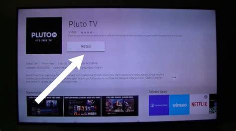 tutorial   pluto tv  smart tv samsung sony