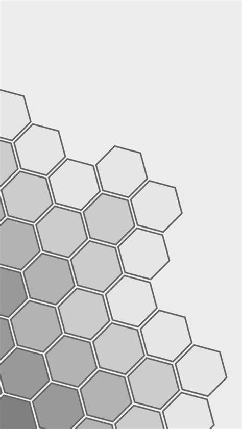 grey hexagon pattern grey hexagons the iphone wallpapers