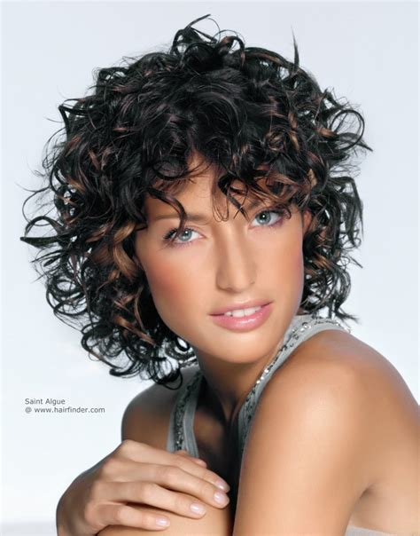 haircuts for curly short hair 2015 layered curly hairstyles for womens of all ages fave