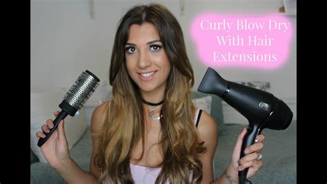 Hair Dryer Extension For Curly Hair appealing curly bouncy routine with micro ring