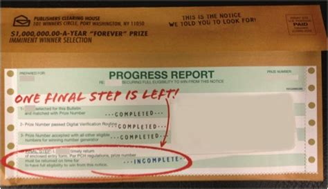 Pch Claim Number - did you receive a publishers clearing house progress report pch blog