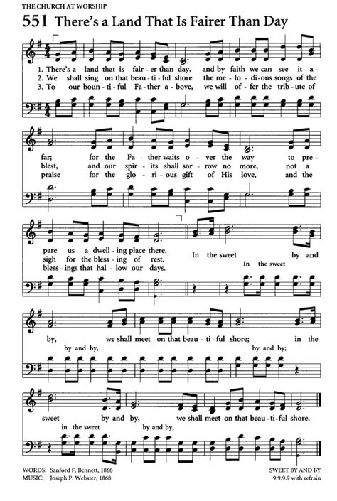 In the Sweet By and By - Hymnary.org