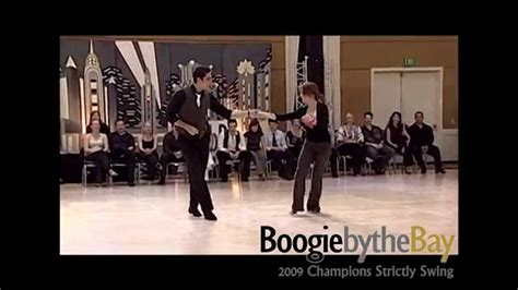 bay area west coast swing michael kielbasa melissa rutz 2009 boogie by the bay