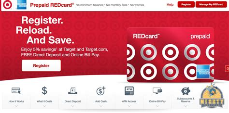 Reload Target Gift Card - reloadable target redcard redbird coming to california mightytravels