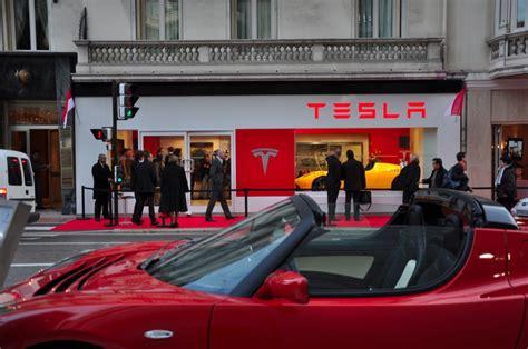 Tesla Shopping Tesla Shop En Monaco Noticias Coches