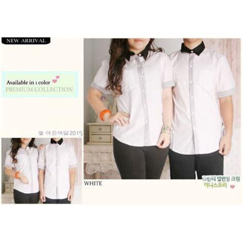 Kemeja Koko 6 jual kemeja koko korea putih murah baju pasangan grosir all shop in