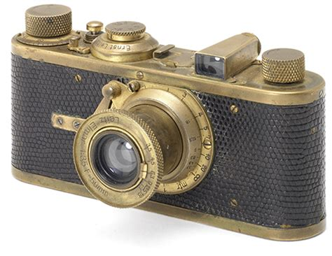 'gold plated' leica camera set to fetch £1/2 million