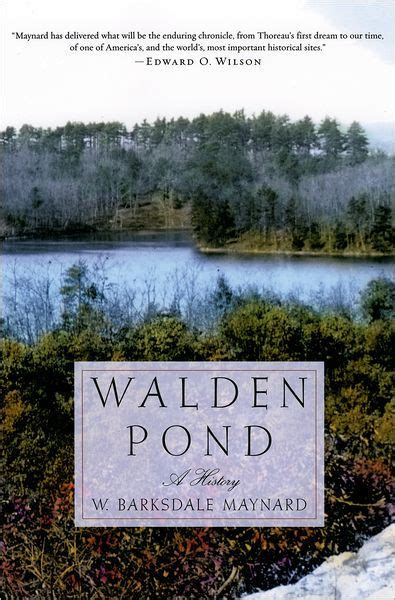 walden book barnes and noble walden pond a history by w barksdale maynard paperback