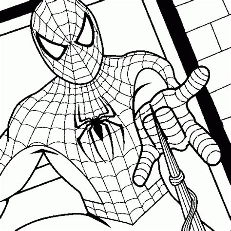 spiderman coloring page pdf spiderman coloring spiderman colouring book pages to