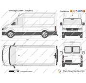 The Blueprintscom  Vector Drawing Volkswagen Crafter L1H2