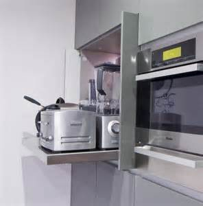 Picture of creative appliances storage ideas for small kitchens