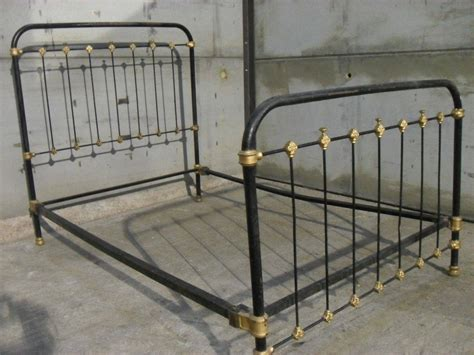 antique iron bed frames allin the details the popular