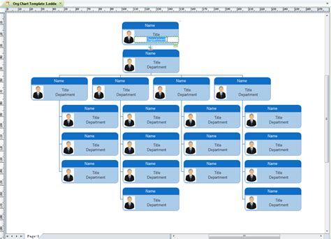 download free school organizational chart templates free