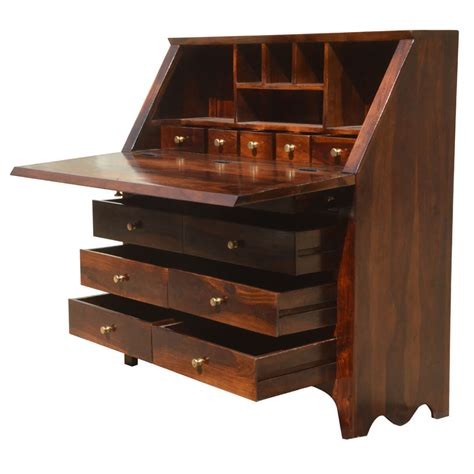 philadelphia solid wood drop front desk
