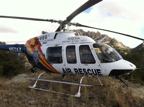 Arizona Department Of Safety Records Arizona Copter Crew Sets Record With Six Rope Rescues Local News Tucson
