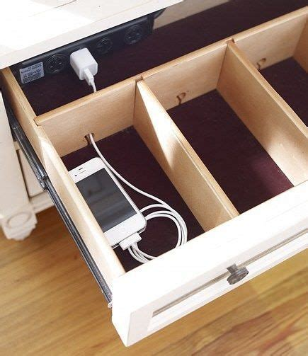 Petit Meuble à Tiroirs 1696 by Clever Diy Charging Station Projects Organisation Maison