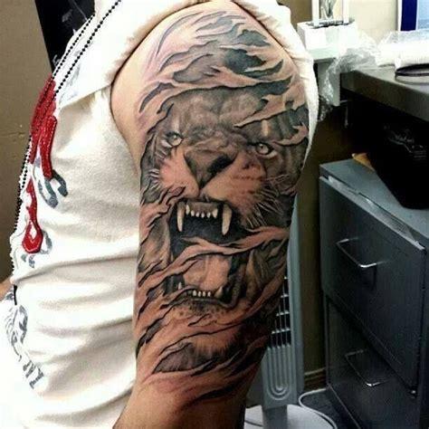 imagenes de leones tatoo tatuajes de leones y dise 241 os de regalo belagoria la