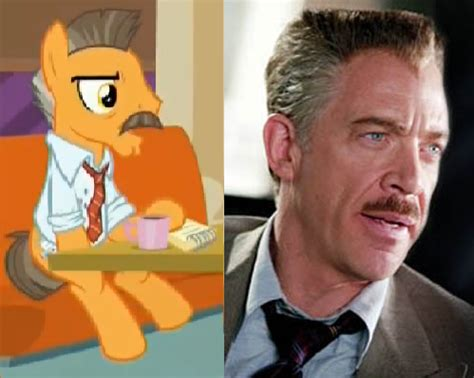 j. jonah jameson in mlp version by cyborgteam on deviantart