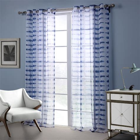 curtains for a blue room blue white modern style curtain window curtains for living