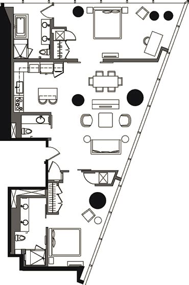 veer towers floor plans veer towers floor plan two bedroom v2b 11a veer towers