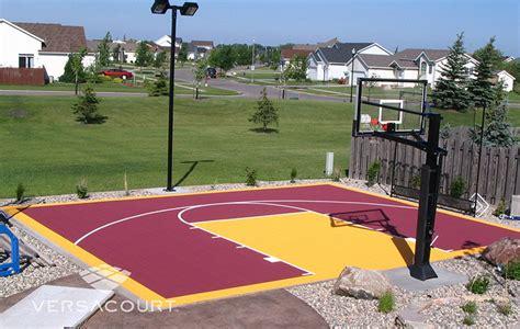 grass  outdoor services backyard basketball court
