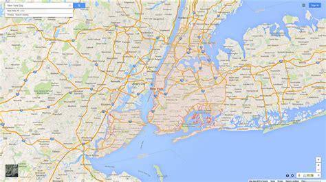 map to new york city popular 179 list maps new york