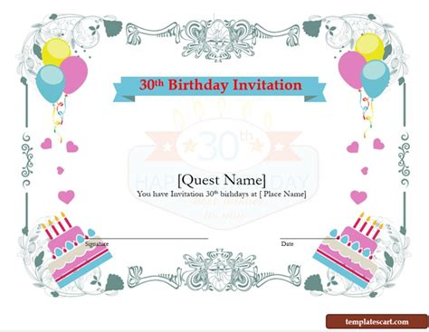 sle wording for 30th birthday invitations free 30th birthday invitation wording templates for him and template for microsoft
