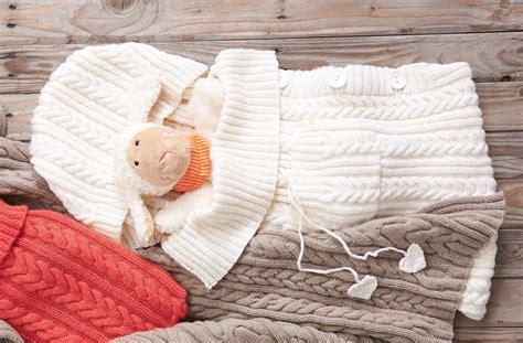 schlafsack und decke baby stricken h 228 keln kostenlose anleitungen f 252 r t 228 gliche