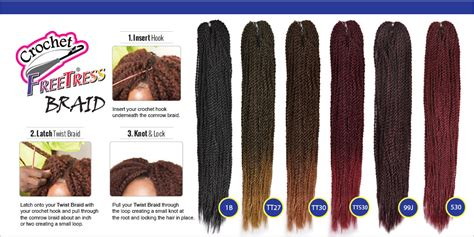 Jubah Hight Twist Best Seller freetress synthetic hair crochet braids micro senegalese