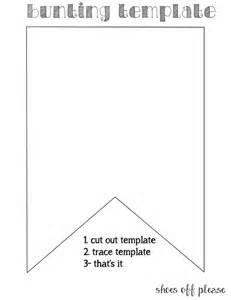 bunting printable template 25 best ideas about bunting template on