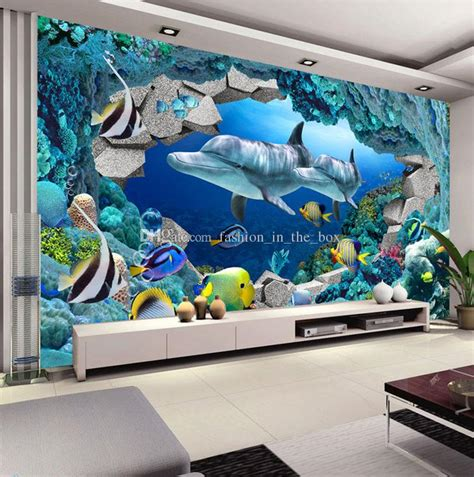 Wall Murals For Boys underwater world photo wallpaper custom 3d wall murals