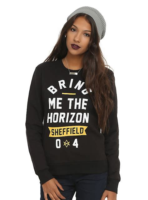 bring me the horizon sheffield sweatshirt topic
