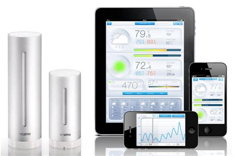 netatmo weather station cool dopln茆k pro smartphone