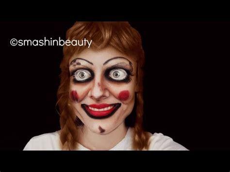 annabelle doll 2016 annabelle doll makeup tutorial series doovi
