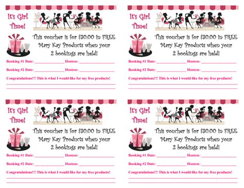 mary kay flyers templates printable mary kay party