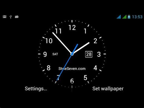 analog clock  wallpaper  youtube