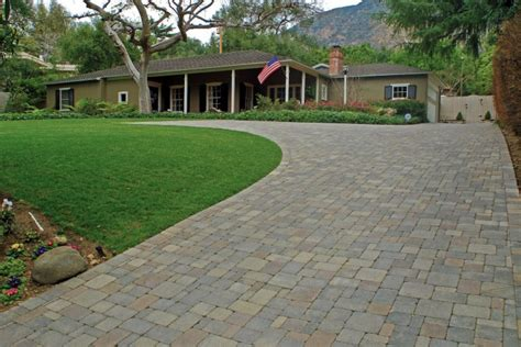 Load Of Rock For Driveway Driveways Gallery Pacific Outdoor Living