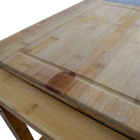 linon kitchen island 48 linon home linon home bamboo rolling kitchen